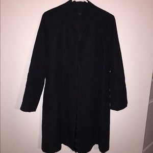 Women's Eileen Fisher Silk lightweight Long Coat